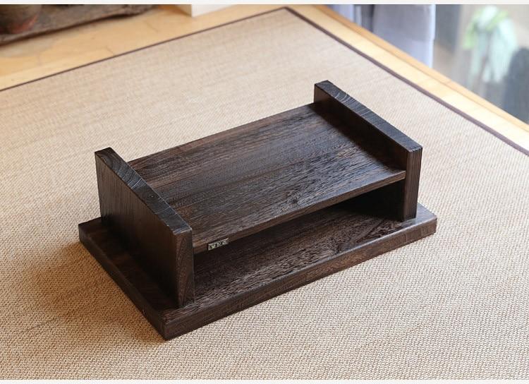 Diseño de muebles antiguos orientales Mesa de té de piso japonés - Mueble - foto 5