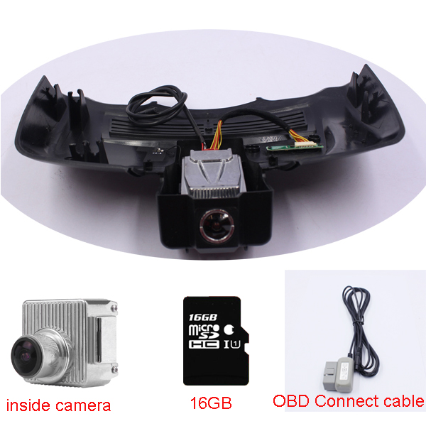 New OBD Car Dash Cam Video Recorder fit for Mercedes Benz S 221 high-Spec (year 2007-2012) with OBD connect cable