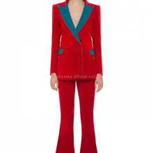 New arrival Green women pant suits and sets for women