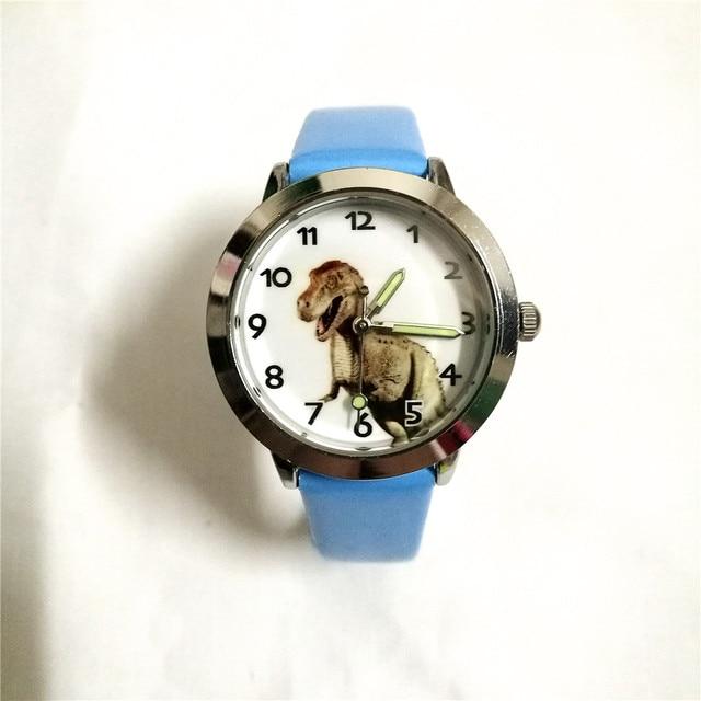brand students Dinosaur pattern watches children causal quartz wrist watch 3D Ca