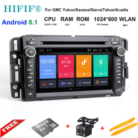 7 ips HD Android 8,1 4 ядра Радио DVD плеер автомобиля Руль gps для Chevrolet Tahoe траверс BUICK Enclave GMC HUMMER
