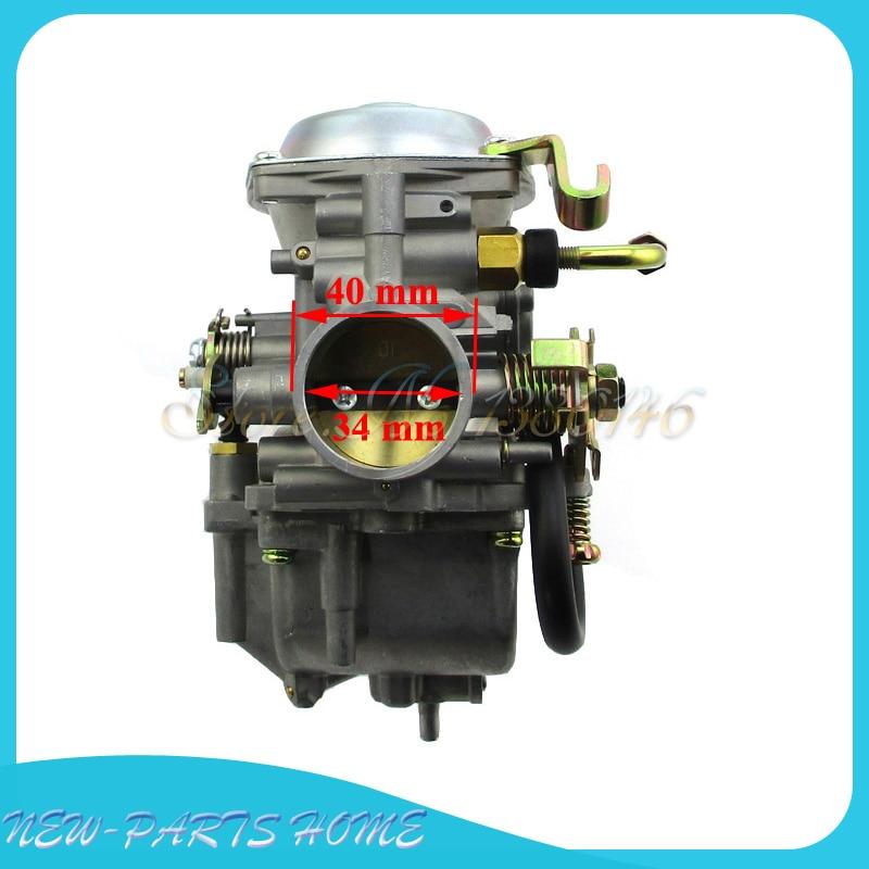 Carburador Carb Para Roketa Atv-11 Jianshe Js400 León De Montaña 400cc Atv Yamauggy Go Kart úLtima Moda