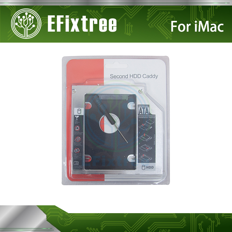 2nd Hard Drive HDD SSD Optical Bay Caddy For IMac 2009 2010 2011 Swap AD-5670S AD-5680H AD-5690H DVD Superdrive 12.7mm