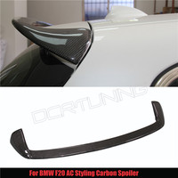 For BMW New 1 Series F20 Bmw 116 118 125i AC Style Carbon Fiber Rear Spoiler