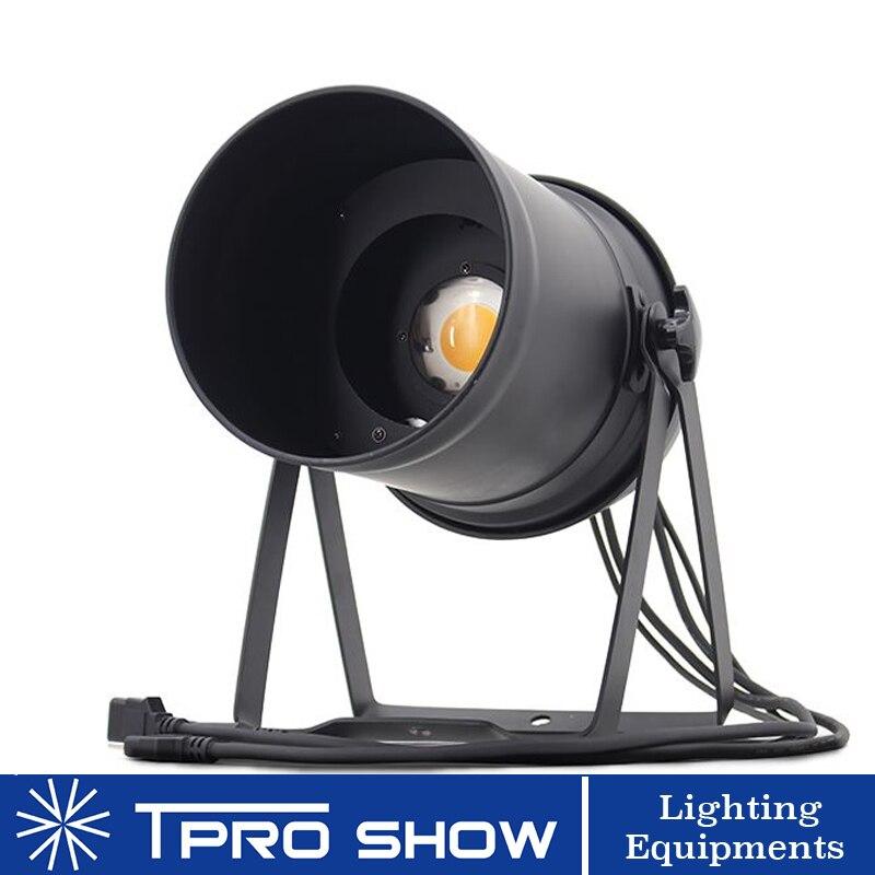 200W COB LED PAR Light 15 to 50 Degrees Zoom Par 64 DMX Stage Light 3200K Warm White for Church Theater TV Studio200W COB LED PAR Light 15 to 50 Degrees Zoom Par 64 DMX Stage Light 3200K Warm White for Church Theater TV Studio