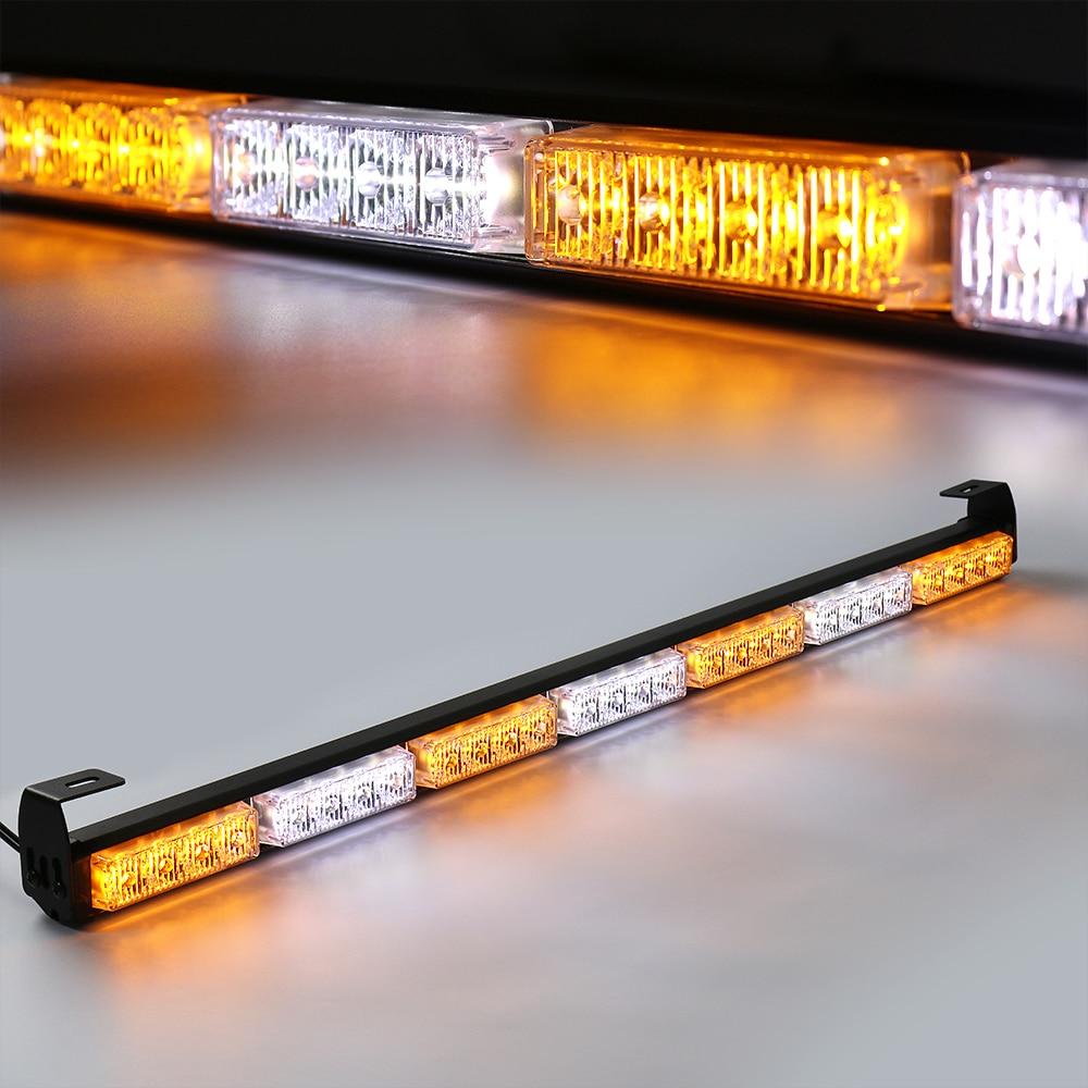 Castaleca аварийного предупреждающий сигнал свет светодиодный мерцающий дневной свет для полиция пожарный mmercial лампа Авто Грузовик Ван трейле...