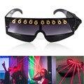QIYING очки с красным лазерным излучением для выступления DJ клубный Лазер очки  бар лазерного очки Прохладный страсть lazer очки лазерная указка