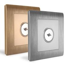 Mayitr 110 250V akıllı ses kontrolü ışık sensörlü anahtar duvara monte ses ses ve işık kontrollü sensörü aktif lamba anahtarı