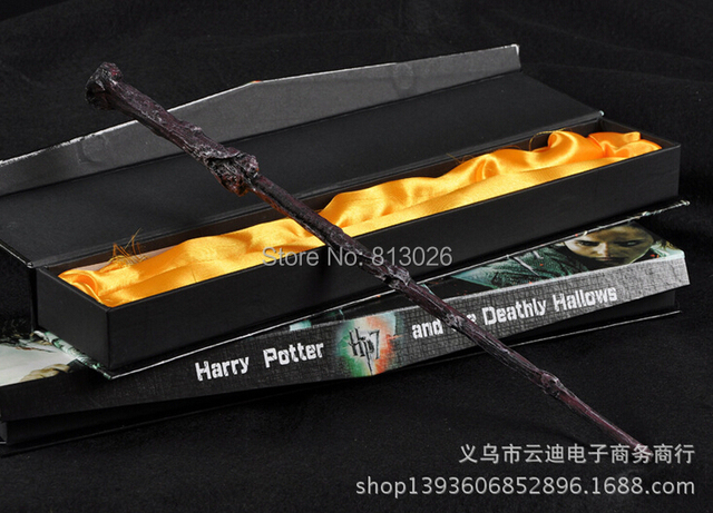 Harry Potter Hogwarts Magical Wand 36cm Action Figures PVC brinquedos Collection Figures toys with Retail box