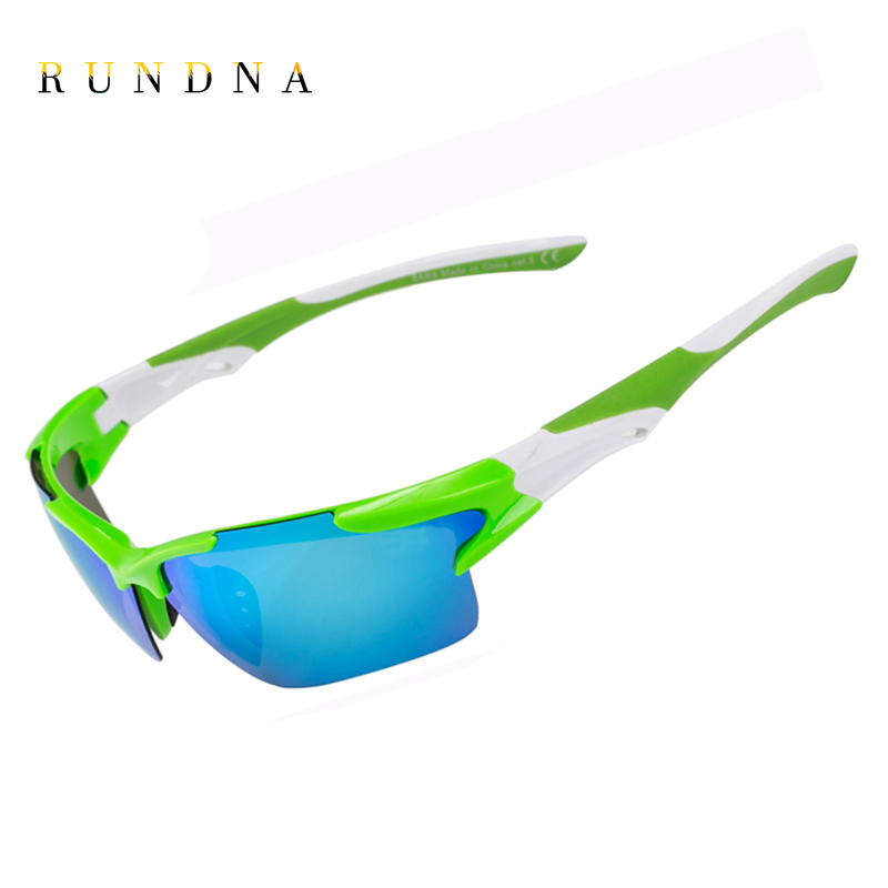 RUNDNA Polarized Cycling SunGlasses Riding Bicycle Bike Goggles Golf Fishing Coating Mirrored Outdoor Sports Sunglasses C04DSM