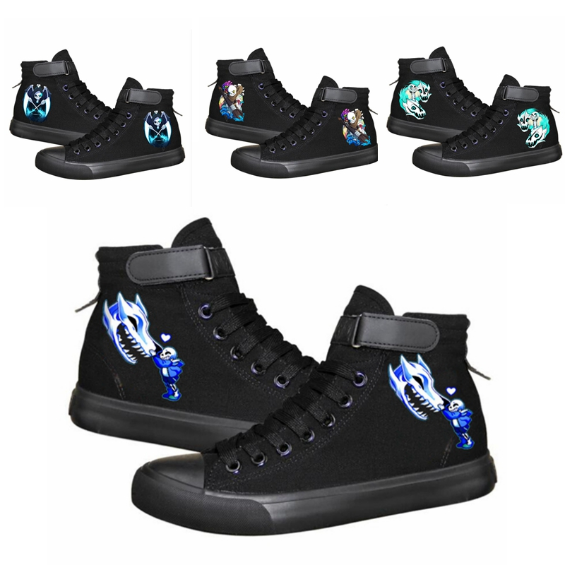 Hot Game Undertale  Sneakers  Boots Canvas Shoes Women Girls Sneakers Women Shoes