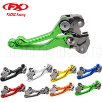 FXCNC Hydraulic Brake Motocross Lever Dirt Bike Brake Clutch Handle For Kawasaki KX250 2005 2008 2006