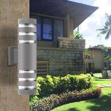 Modern Outdoor Lighting Waterproof Up Down LED Wall Lamp Outdoor Fixtures Industrial Decor For Garden Outside Buitenverlichting