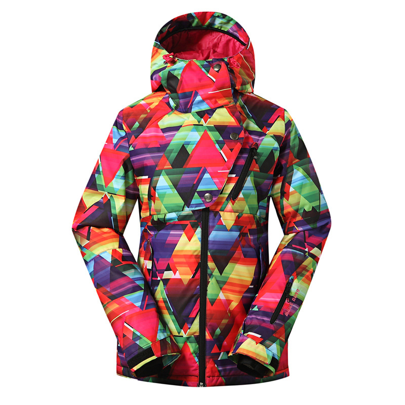 Gsou snow Ski Jacket Women Brand New Snowboard Ski Clothing Snowboarding Suit Women Ladies Winter Warm Jacket Climbing Wear gsou snow waterproof ski jacket women snowboard jacket winter cheap ski suit outdoor skiing snowboarding camping sport clothing