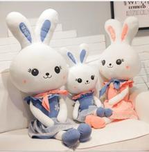 цены WYZHY New creative cute princess rabbit plush toy long ears rabbit doll doll pillow children gift 30CM