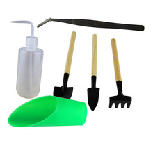 BESTOYARD 6 шт. мини железная ручная лопатка скребок грабли для сада/улицы/кемпинга