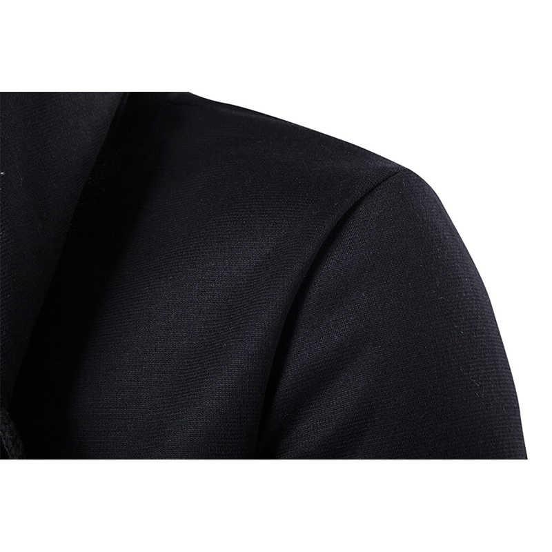 Homens com capuz moletom com capuz hip hop manto hoodies jaqueta manga longa manto masculino casaco cardigan com capuz homem roupas outwear