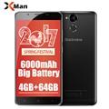 """6000mAh Original Blackview P2 4G Mobile Phone Android 6.0  5.5""""FHD MTK6750T Octa Core  4GB RAM 64GB ROM 13MP 9V2A Quick Charge"""