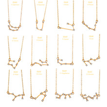 2019 New Bohemian 12 Zodiac Constellation Anklets Adjustable Vintage Gold/Silver Anklet Bracelet on Leg Fashion Jewelry(China)