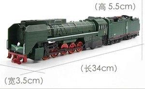 Image 2 - Locomotive Diesel, jouet en alliage de taille unique, voitures, son, léger, jouet pour enfants