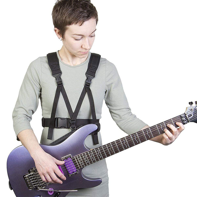 Neotech 2501522 Guitar Support Harness Works on All Guitars Bass Electric Acoustic with 2 Strap Pins
