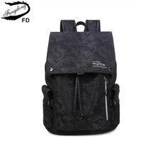 FengDong boys school bags black camouflage backpack waterproof bag bookbag girl schoolbag college bags school backpacks kids
