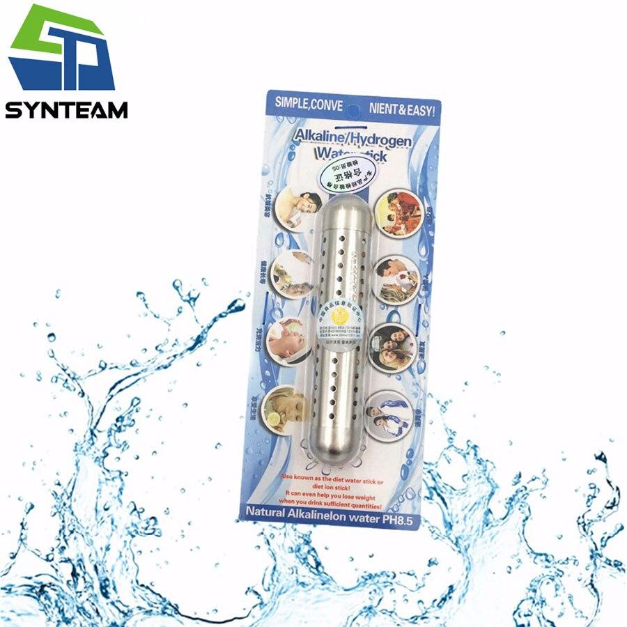 Hydrogen Water Sticks Alkaline Water Generator Maker Material Stainless Steel Length 7.5cm 2pcs/LOT