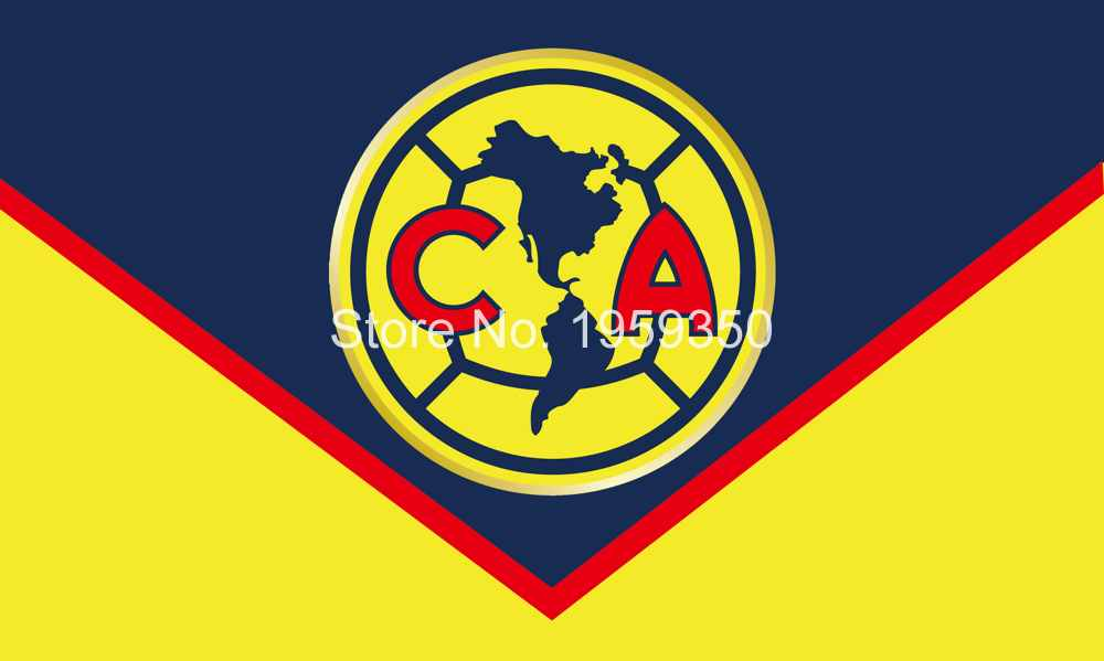club america logo flag 3x5ft 150x90cm 100d polyester 90x150cm with rh aliexpress com logo del america mexico logo del america de cali
