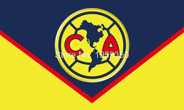 club america logo flag 3x5ft 150x90cm 100d polyester 90x150cm with