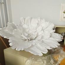 Супер большой цветок пиона голова 1 м диаметр Свадебные украшения большие шелковые цветы декоративные аксессуары