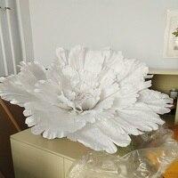 Super large flower Big peony flower head 1 M diameter Wedding decoration large silk flowers decorative accessories