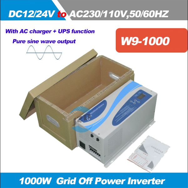 1000Watts Peak Power 3000W Pure Sine Wave Inverter DC12 24V to AC110 220V 50 60HZ Inverter