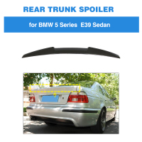 For BMW 5 Series E39 M5 1996 2003 Rear Wing Spoiler Boot Lid Carbon Fiber Rear Trunk Spoiler M4 Style
