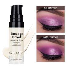 SACE LADY Brighten Eyeshadow Primer Professional Long Lasting Makeup Natural Eye Cream Finish Liquid EyeShadow Primer Cosmetic цена