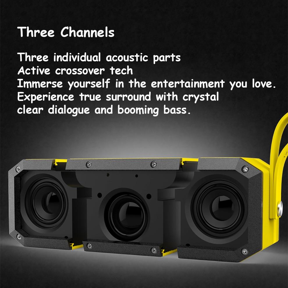 Caisson de basses ultra sono partie DJ camp haut-parleurs Pro Portable sans fil Bluetooth haut-parleur home cinéma étanche en plein essor basse - 6