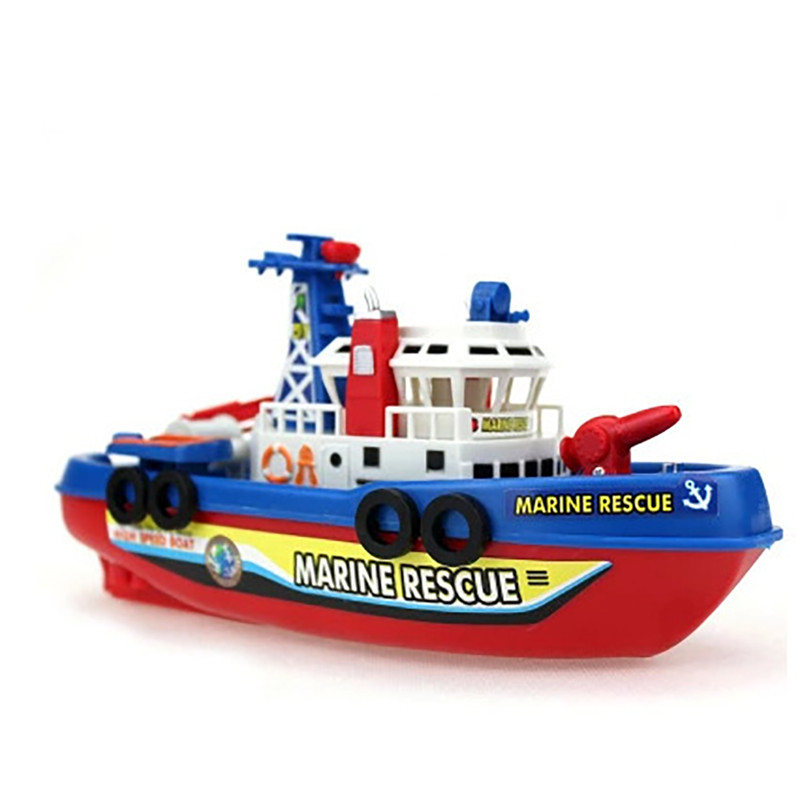 how to make a electric toy boat