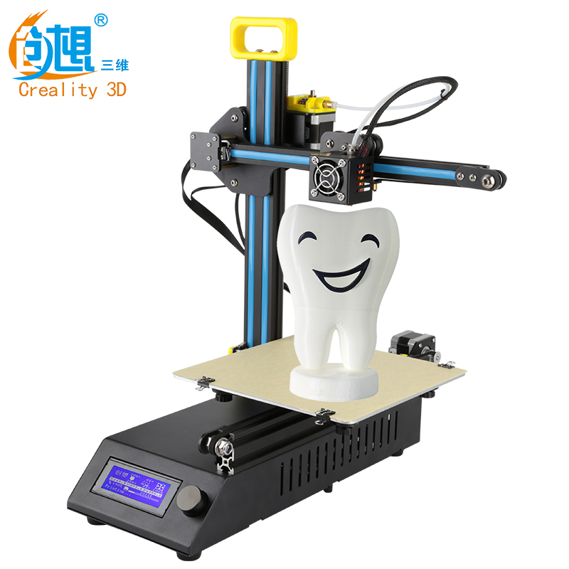 Creality 3D Cheap 3D Printer Mini Laser Engraving CR-8 3 D Printer 2 in1 DIY Kit Full Metal Easy Assemble Free Filament Gift creality 3d printer full metal auto leveling ender 4 core xy printer with filament monitoring laser head 3d printer diy kit
