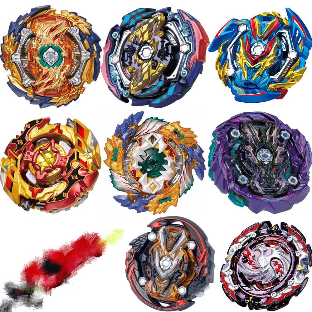 Full Style Launchers Beyblade B-142 B-143 Burst Arena Toy Sale Bey Blade Blade and Bayblade Bable Drain Fafnir Phoenix Blayblade(China)