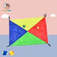 Детский уличный школьный игровой зонтик для метания шаров оборудование