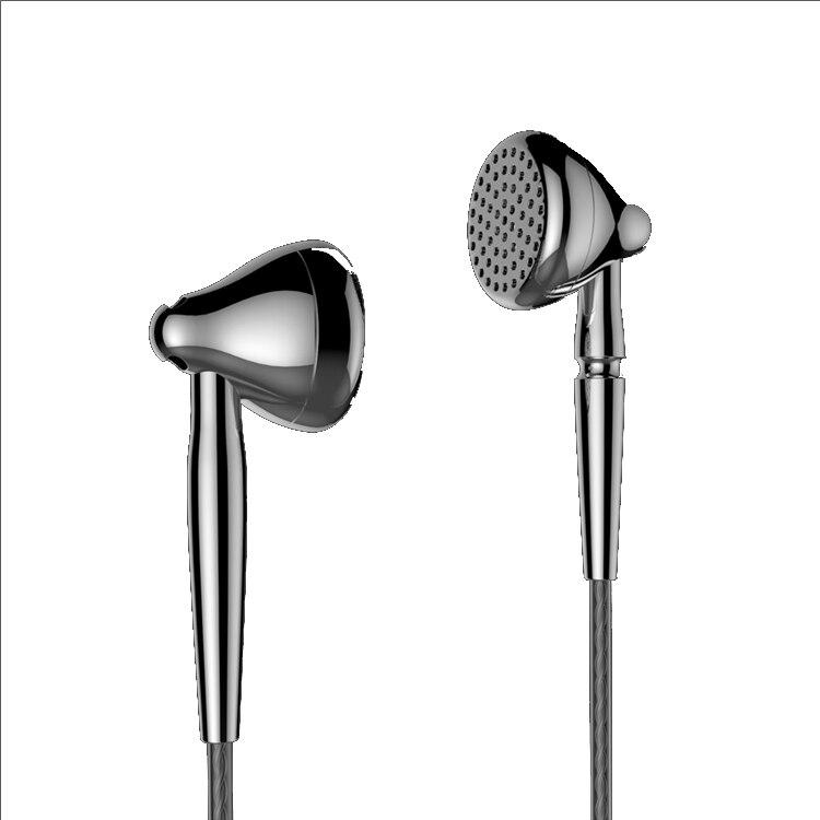 цена на AK Moondrop Liebesleid In Earphone High Bass Qulity Flat Earbud Alloy Tune Earset 3.5mm Connector 2.5/4.4mm Balance Connector