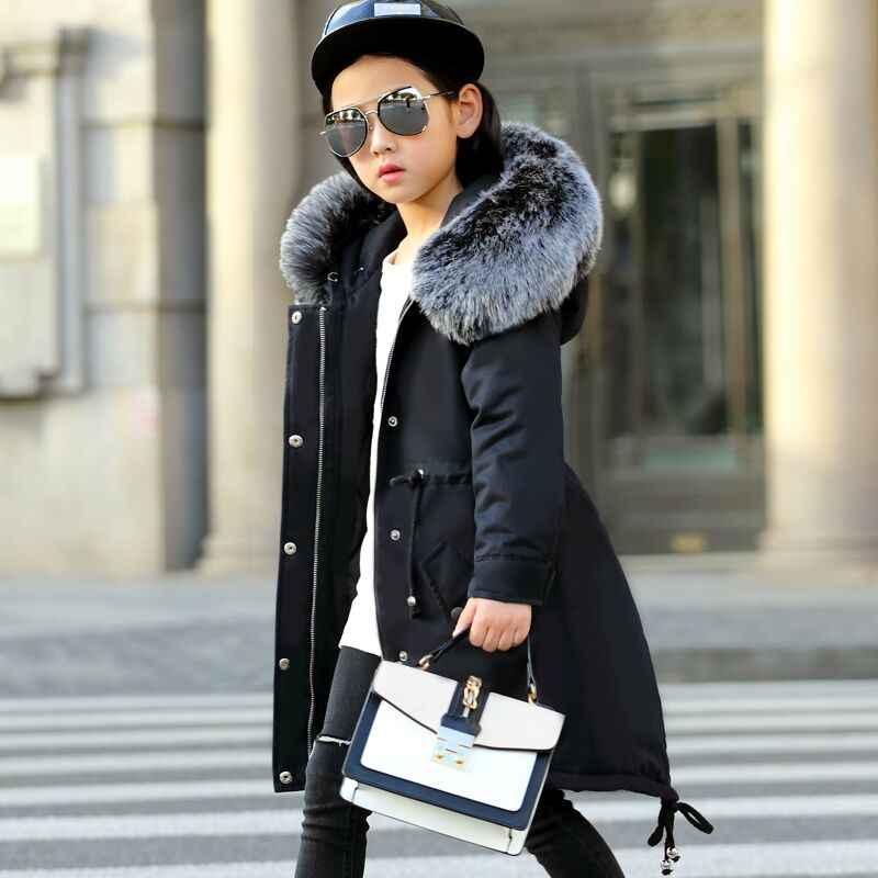 6612b8dd4 Detail Feedback Questions about Winter Jacket Girls Coat 2018 ...