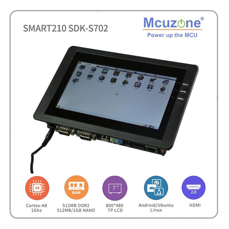 FriendlyELEC SMART210/TINY210V2SDK-S702 S5PV210 Cortex-A8 Bord mit 7