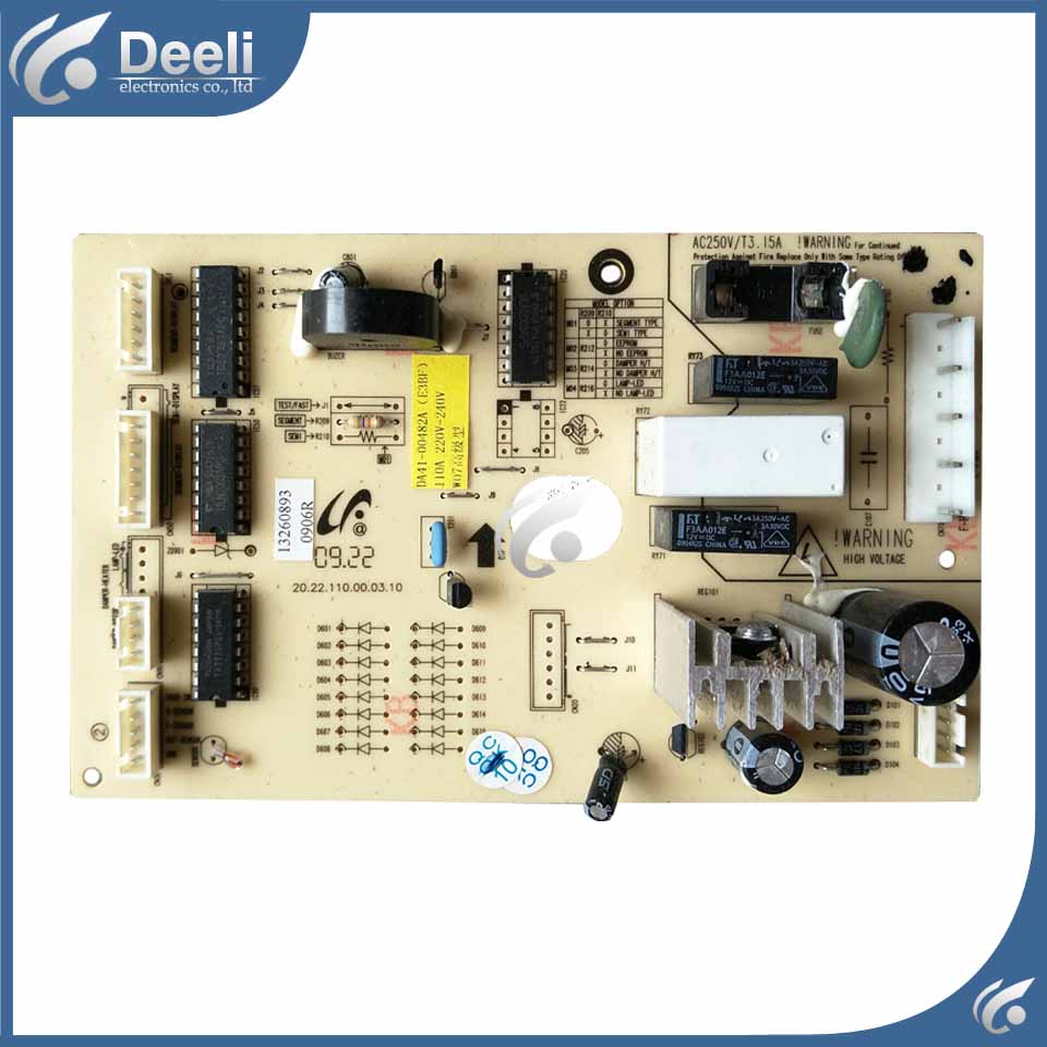 good working used board for refrigerator computer board power module DA41-00482A board original refrigerator computer board frequency conversion board da92 00279a da41 00797a