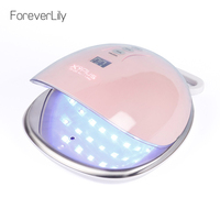 Rechargeable 48W UV LED Nail Lamp Nail Dryer For All Gels 36LEDs battery UV Lamp Sensing Time 30s/60s/90s Nail Maincure Machine