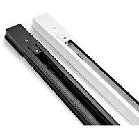 0 5 м или 1 м на штуку рельсовая дорожка осветительная арматура для светодиодного трекового освещения Универсальные рельсы  рельсы для треко...