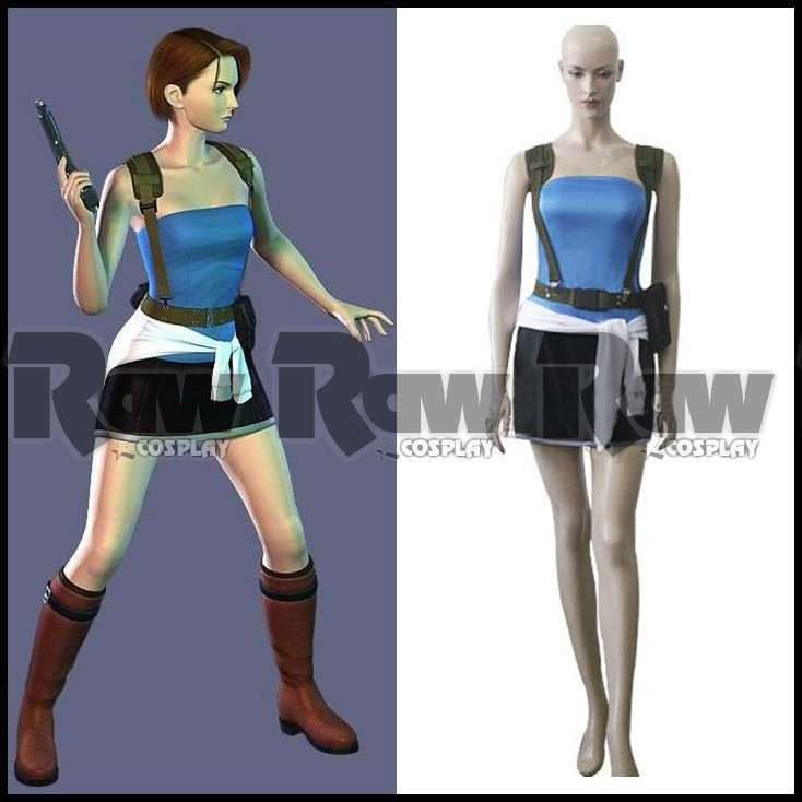 resident evil 3 jill valentine outfits