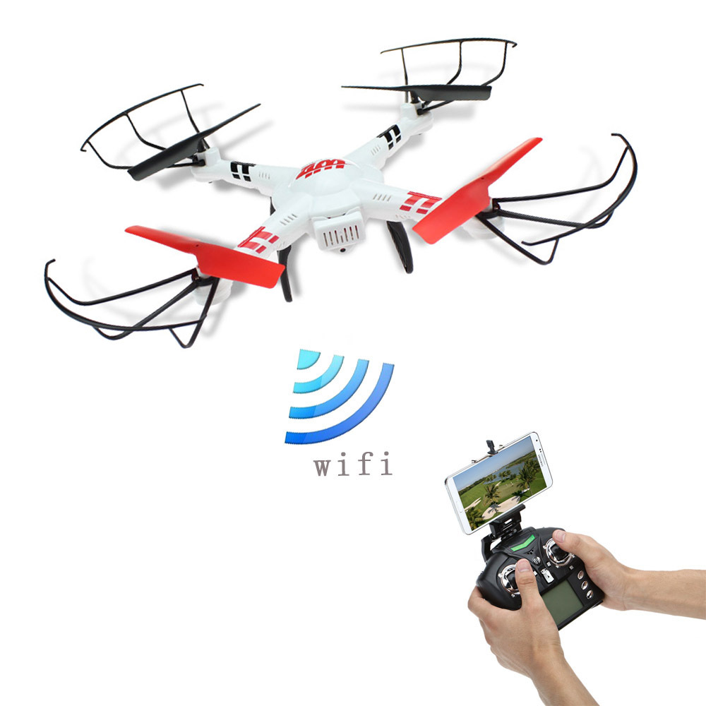 ФОТО F16753/4 WLtoys V686K Wifi Video Real-time Phone FPV Quadcopter with Camera Headless Mode 2.4G 4CH 6-Axle Gyro RC Drone UFO RTF