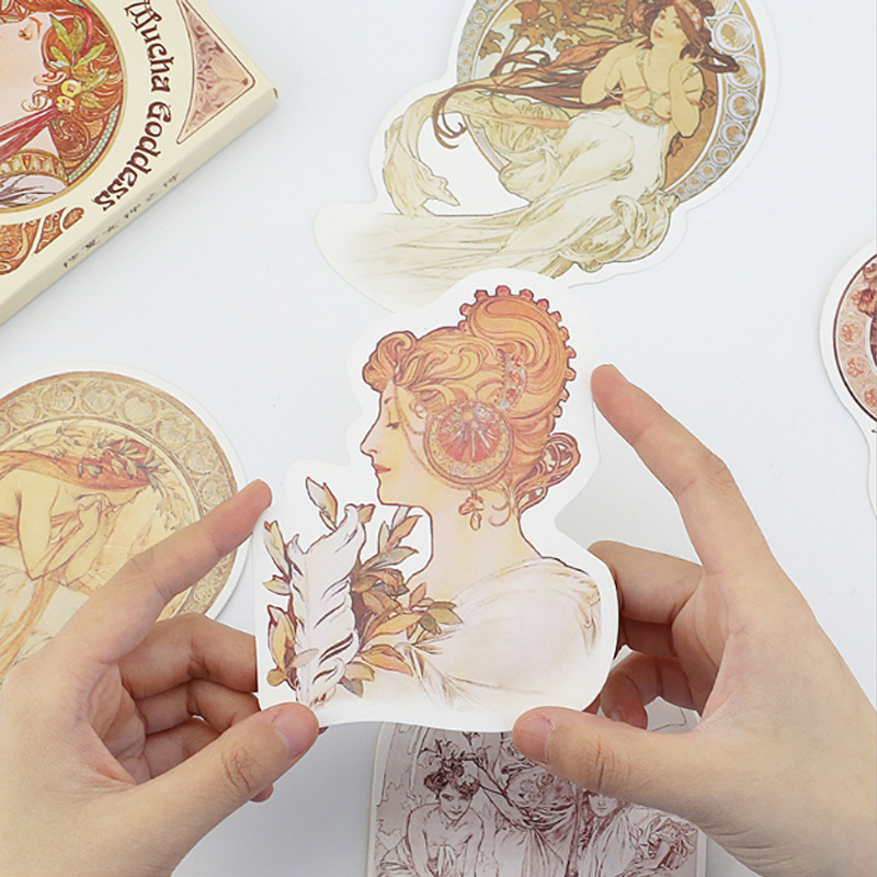 30 pcs/pack Goddess of Poetry personality Greeting Card Postcard Birthday Letter Envelope Gift Card Set Message Card 30 pcs pack lovely animal zoo stickers greeting card postcard birthday letter envelope gift card set message card