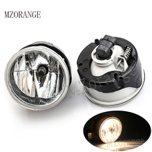 купить MZORANGE Fog Light Halogen Fog Lamp For Jeep Grand Cherokee 2004 2005 2006 2007 2008-2010 Fog Lamp Assembly 4805858AA H10 199 дешево