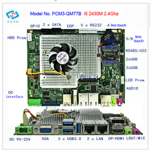 New firewall motherboard with core I5 2430M CPU 2.4GHz PCM3-QM77B